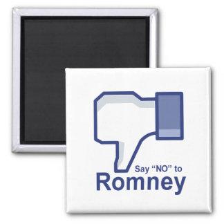 Diga no a Romney Imán Cuadrado