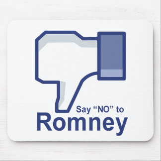 Diga no a Romney Tapete De Ratones