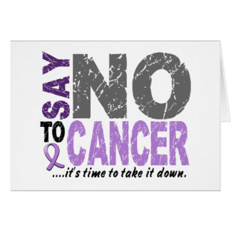 Diga NO al cáncer 1 Tarjetón