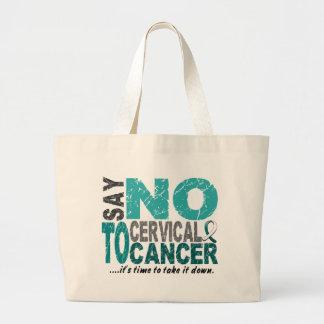 Diga NO al cáncer de cuello del útero 1 Bolsas