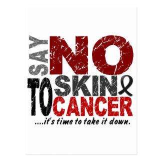 Diga NO al cáncer de piel 1 Postales