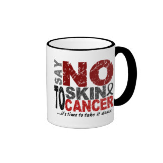 Diga NO al cáncer de piel 1 Taza