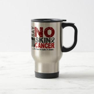 Diga NO al cáncer de piel 1 Tazas