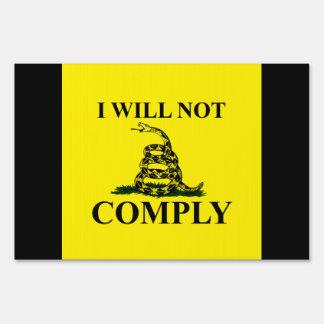 ¡Diga NO al comunismo! Señal