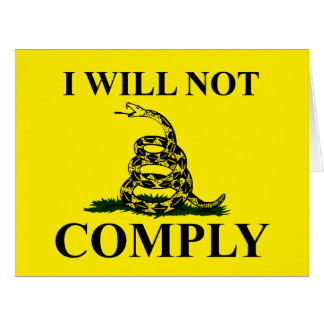 ¡Diga NO al comunismo! Tarjeta De Felicitación Grande