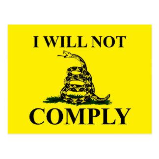 ¡Diga NO al comunismo! Tarjetas Postales