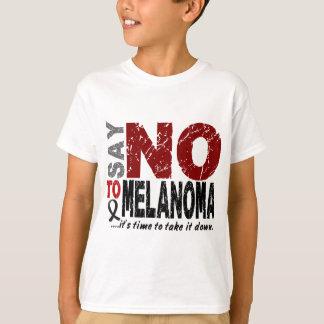 Diga NO al melanoma 1 Playera