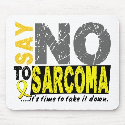 Diga NO al sarcoma 1 Alfombrilla De Ratón