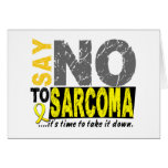 Diga NO al sarcoma 1 Tarjetas