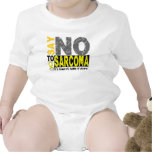 Diga NO al sarcoma 1 Traje De Bebé