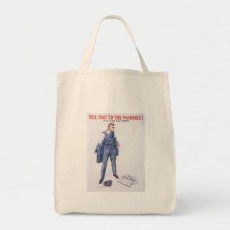 Diga que a la guerra mundial 2 bolsa de mano