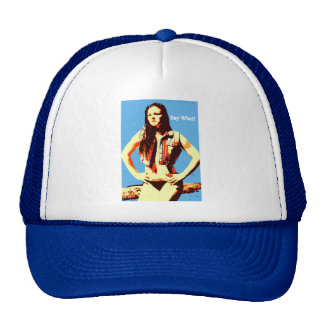 diga qué gorra del camionero