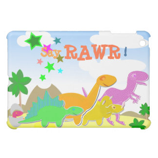 ¡Diga Rawr! Caso del iPad de los dinosaurios del