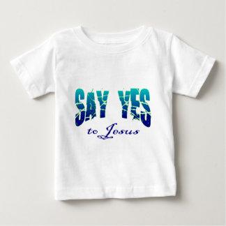 Diga sí al diseño cristiano de Jesús Tee Shirts
