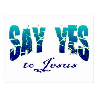 Diga sí al diseño cristiano de Jesús Postal