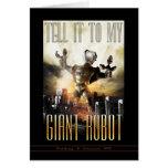 Dígalo a mi tarjeta de felicitación gigante del ro