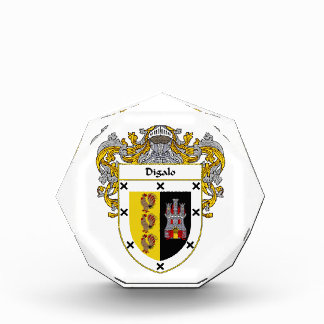 Digalo Coat of Arms Family Crest Award