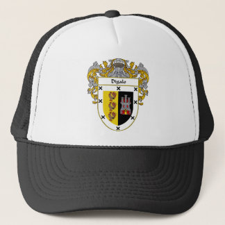 Digalo Coat of Arms/Family Crest Trucker Hat