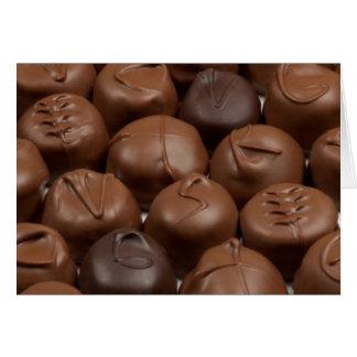 ¡Dígalo con el chocolate! Tarjeta Pequeña