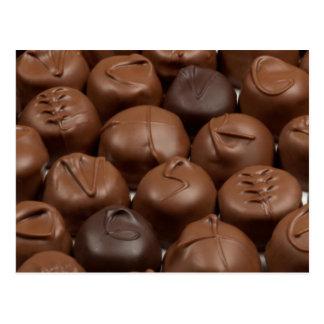 ¡Dígalo con el chocolate! Tarjetas Postales