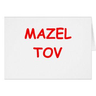 dígalo en yiddish tarjeta