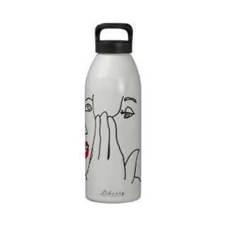 Dígame sus secretos botellas de agua reutilizables