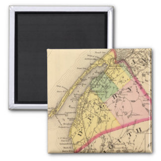 Digby Co, NS 2 Inch Square Magnet