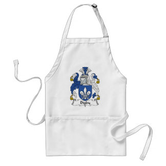 Digby Family Crest Adult Apron