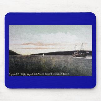 Digby Nueva Escocia, Digby Gap - S.S. príncipe Rup Alfombrillas De Ratones