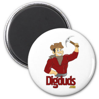 DigDuds.com Logo Magnet