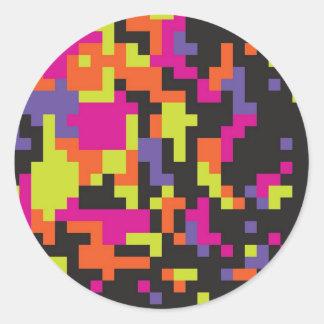 Digeratus Rebellious Classic Round Sticker