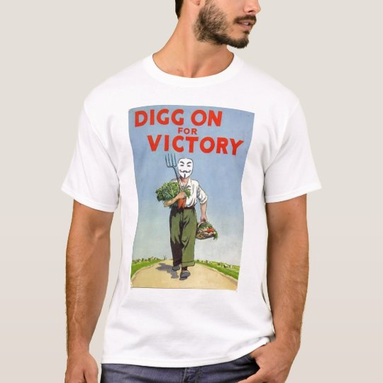 Digg on For Victory T-Shirt
