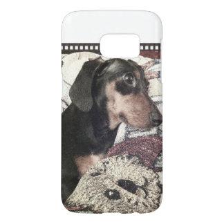 Digger Blanket Sketch Samsung Galaxy S7 Case