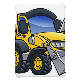 Digger Bulldozer Cartoon Cover For The iPad Mini