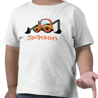 Digger Construction Toddler T-Shirt
