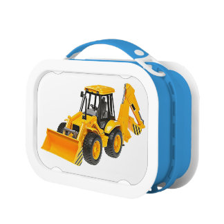 Digger image for Yubo Lunchbox, Blue Lunch Box