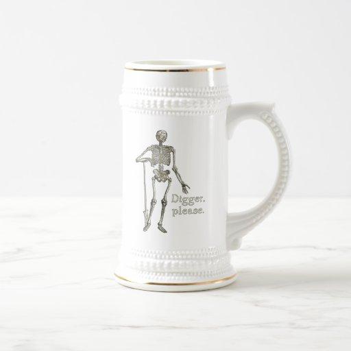 Digger, Please Mugs