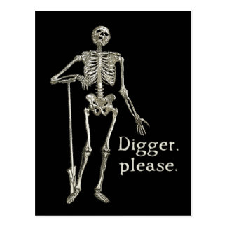 Digger, Please Postcard