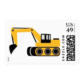 Digger Postage Stamps