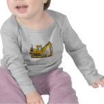Digger Shovel Baby T-Shirt