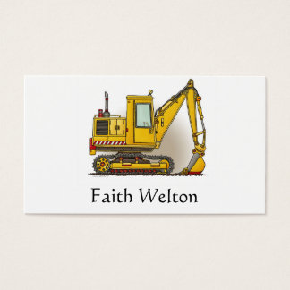Digger Shovel Business Card
