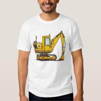 Digger Shovel Construction Apparel T-shirt