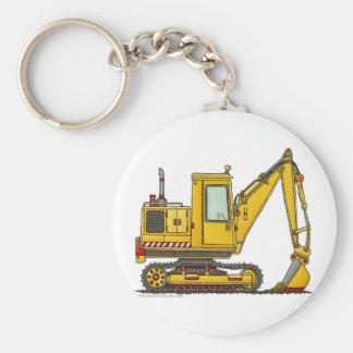 Digger Shovel Construction Key Chains