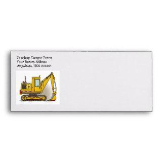 Digger Shovel Envelopes