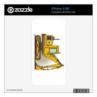 Digger Shovel iPhone 4 Decal