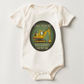 Digger Shovel Operator Quote Infant Creeper