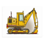 Digger Shovel Post Card