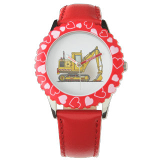 Digger Shovel Wrist Watch