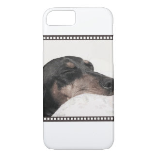 Digger Sleeping Sketch iPhone 8/7 Case