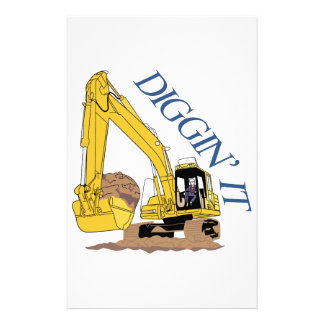 Diggin It Stationery